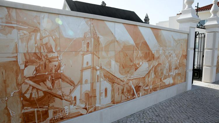 Mural of Homage to the People of Fatima